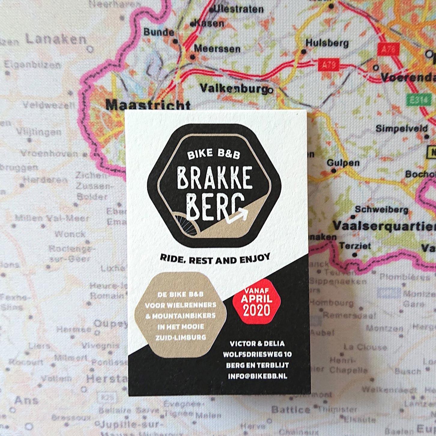 visitekaartje Bike B&B Brakke Berg